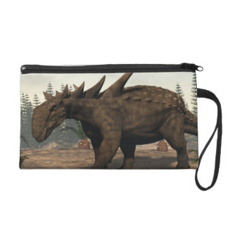 Sauropelta dinosaur - 3D render Wristlet