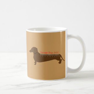 Sausage Dogs Rule Coffee Mug