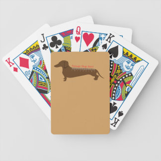 Sausage Dogs Rule Poker Deck