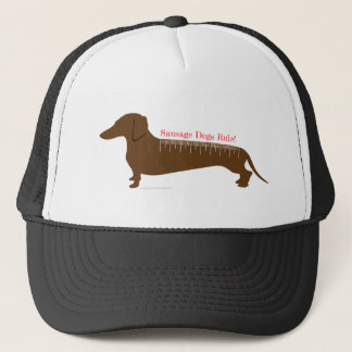 Sausage Dogs Rule Trucker Hat