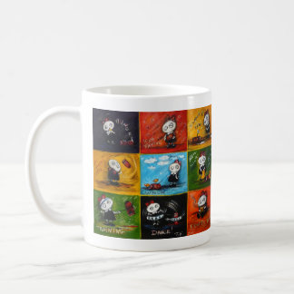 Sausage girl coffee mug