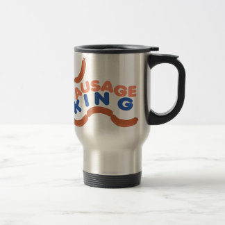 Sausage King Travel Mug