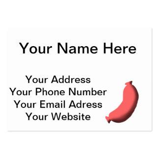 Sausage Large Business Card