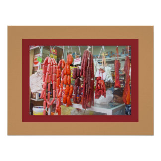 Sausage Market Poster