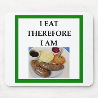 sausage mouse pad
