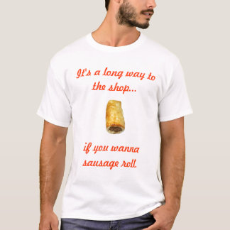 Sausage roll t-shirt