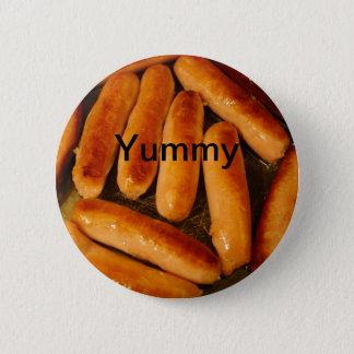Sausages Button Badge