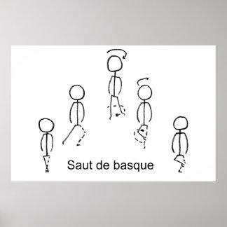 Saut de Basque Poster