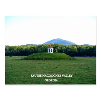 SAUTEE NACOOCHEE VALLEY - GEORGIA POSTCARD