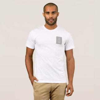 Sautez la paume ou mariez le T-shirt des hommes de