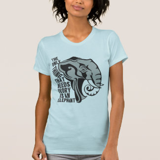 Sauvez les éléphants tee-shirt