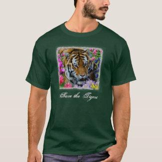 Sauvez les tigres t-shirt
