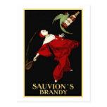 Sauvion's Brandy Postcard