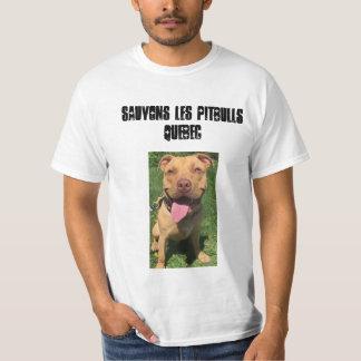 Sauvons les Pitbulls Quebec T-Shirt