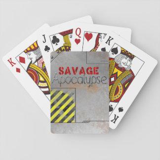 Savage Apocalypse Deck Poker Deck