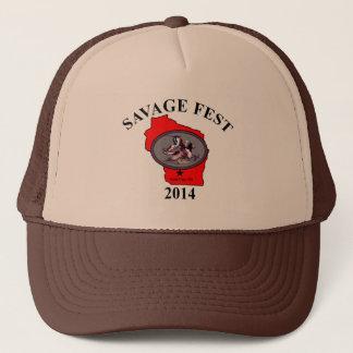 Savage fest truckers hat. trucker hat