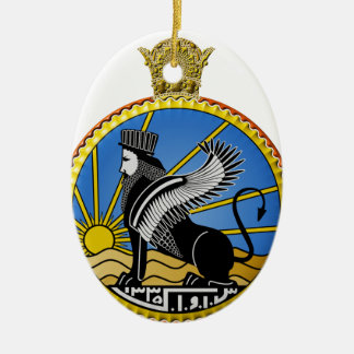 Savak Iran Secret Police Ceramic Ornament