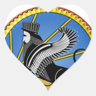 Savak Iran Secret Police Heart Sticker