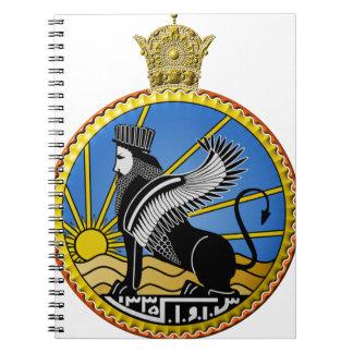 Savak Iran Secret Police Spiral Notebook