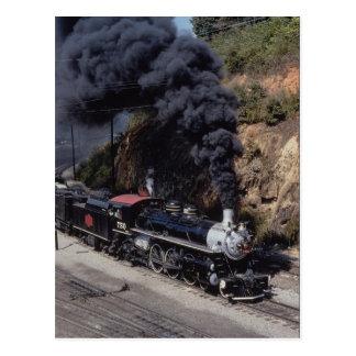 Savannah and Atlanta Railway, 4-6-2, No. 750, Ashe Postcard