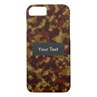 Savannah Camouflage Customizable iPhone 7 Case