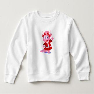 Savannah Dino in Christmas Outfit - T-shirt