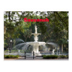 Savannah Fountain Postcard