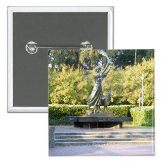 Savannah, GA 2 Inch Square Button