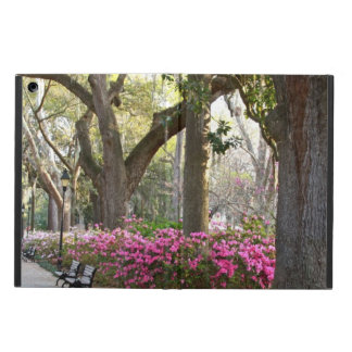 Savannah GA in Spring | Forsyth Park Azaleas Oaks iPad Air Case