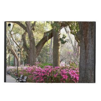 Savannah GA in Spring | Forsyth Park Azaleas Oaks iPad Air Covers