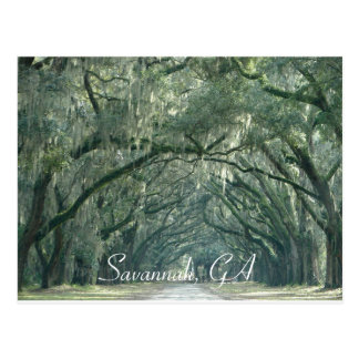 Savannah, GA Postcard