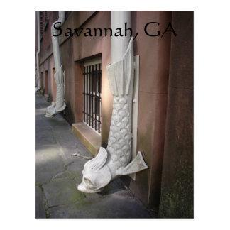 Savannah Gargoyle Post Card