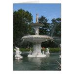 Savannah Georgia Forsyth Fountain Greeting Cards