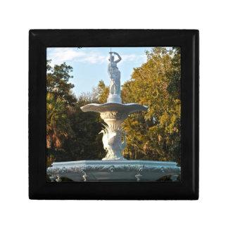 Savannah Georgia Forsyth Park Fountain Jewelry Box
