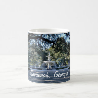 Savannah Georgia Fountain Coffee Mug