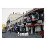 Savannah Georgia GA Card