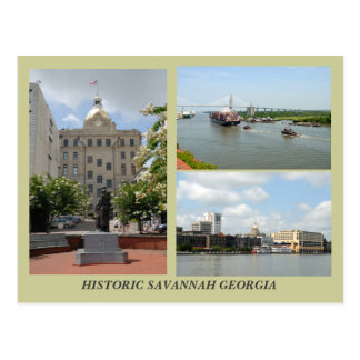 Savannah, Georgia Postcard