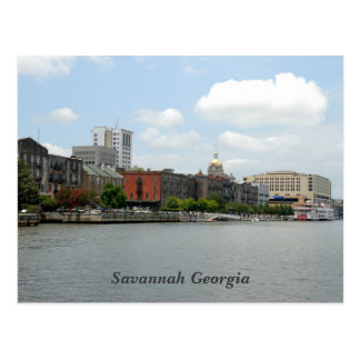 Savannah Georgia Postcard