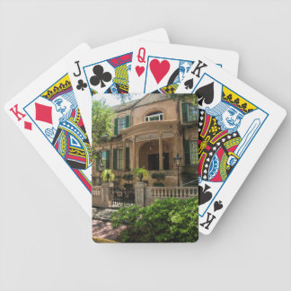 Savannah Georgia Victorian Historical House 2 Bicycle Playing Cards