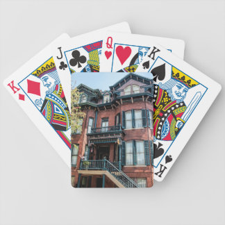 Savannah Georgia Victorian Historical House Bicycle Playing Cards