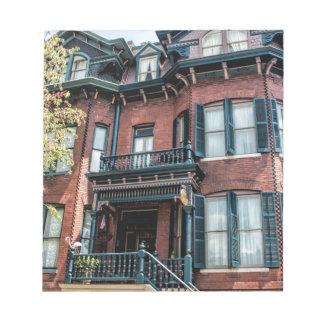 Savannah Georgia Victorian Historical House Notepads