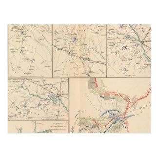 Savannah Goldsborough campaign maps Post Card