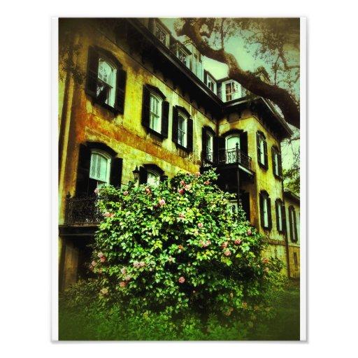 Savannah House on Gaston Street Art Photo