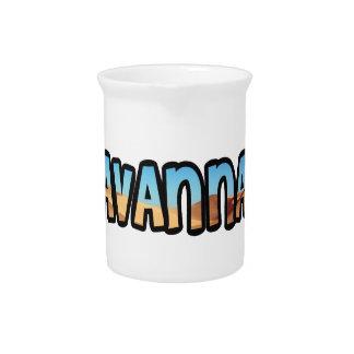 Savannah jar