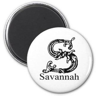 Savannah Magnet