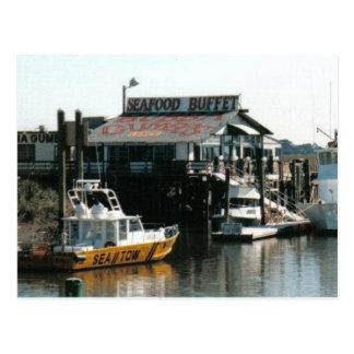 Savannah Seafood Postcard