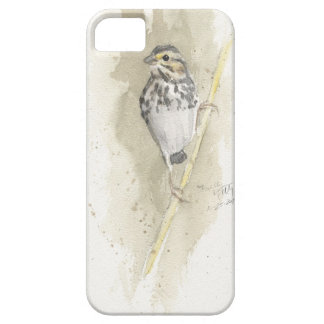 Savannah Sparrow in Early Spring iPhone 5 Case