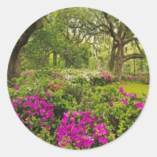 Savannah Spring Classic Round Sticker