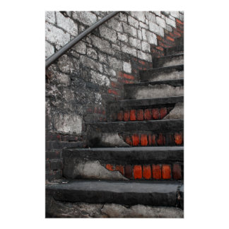 Savannah Stairs Poster