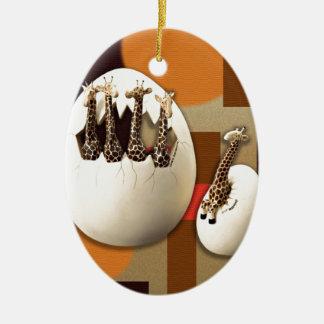 Savannah Style Ceramic Ornament